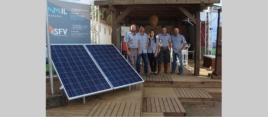 A Romil Painéis Solares marcou presença no 32º Rodeio Crioulo Internacional de Vacaria